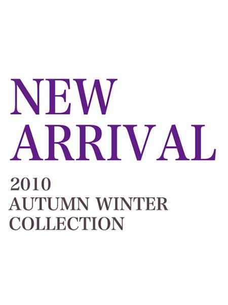 2010秋冬の新作が明日より店頭に並びます。