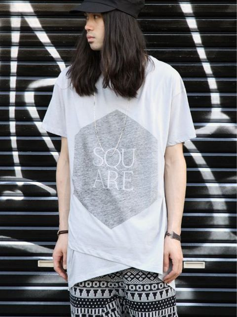 "odeur LAYER TEE ""SQUARE CUBE"""