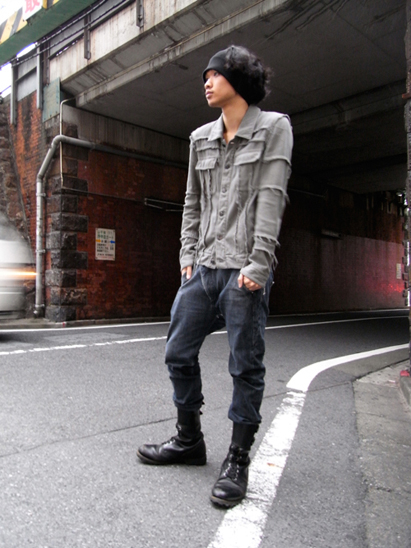 [ 再入荷 ] wizzard // DENIM SHORT JACKET