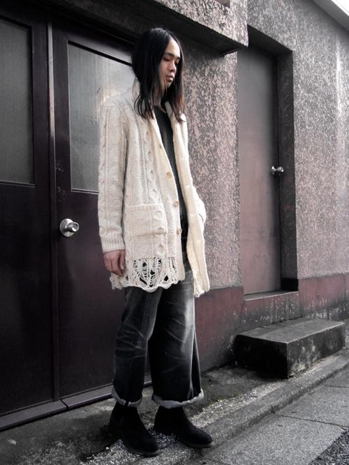 【ウインターセール_MEDAMA#4】FACETASM [ファセッタズム] //BIG&SLIM PANTS  ¥37,800-→¥30,240-