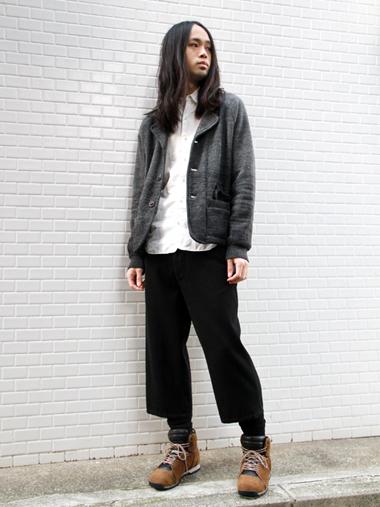 【ウインターセール_MEDAMA#9】■ TROVE //  KNIT JKT CARDIGAN ¥28,500- → ¥22,800-