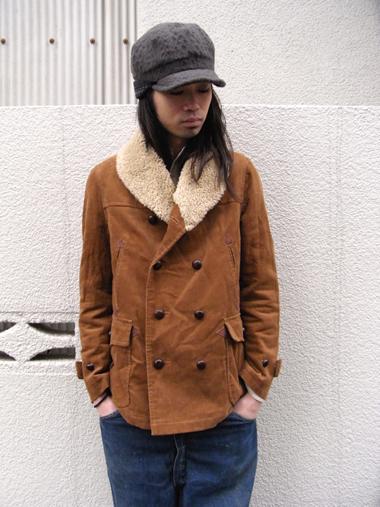 【ウインターセール_MEDAMA#8】 ■ mean | ミーン // CORDUROY RANCH COAT <ランチコート> ¥38,000- → ¥26,600-