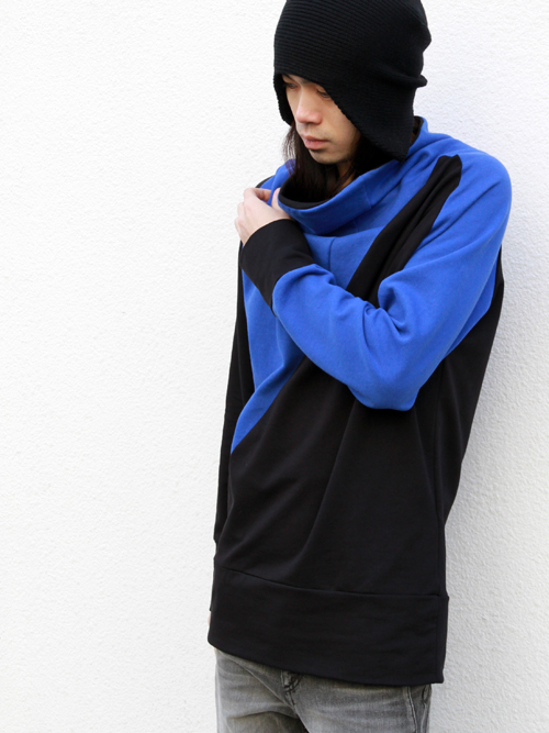 【MORE SALE_MEDAMA#7】■z.B. // PATTENED SWEAT PULLOVER ¥23,100- → ¥18,480-