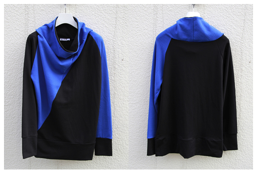 【STAFF RECOMEND】■z.B. Berlin  // PATTENED SWEAT PULLOVER