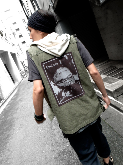 <Wizzard // MILITARY VEST _SHELTER別注> 〜 In the heart ... , in the head ... 〜