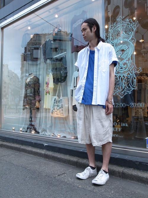 【TROVEのワイドな夏シャツ】
