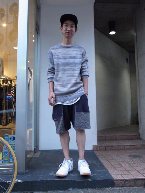 【スタッフコーディネート 6/26 +Etudes(エチュード)のニット】