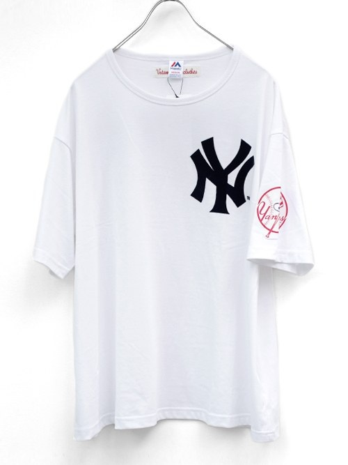 【VOTE MAKE NEW CLOTHES×Majesticのオフィシャルコラボ YANKEES Tシャツ販売開始!】