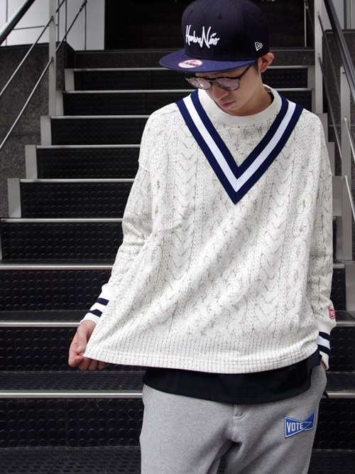 【VOTE MAKE NEW CLOTHESのテニスウェア風3D転写プリントアイテム】