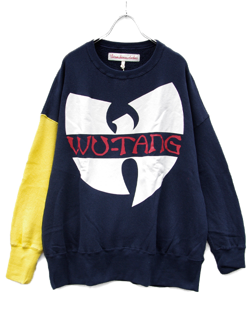 VOTE MAKE NEW CLOTHESとHIPHOP『WU-TANG CLAN』のコラボスウェットが入荷