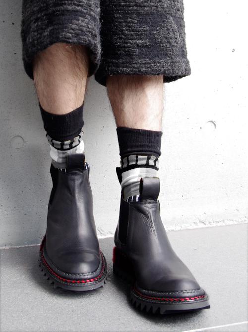 【JUVENILE HALL ROLLCALL×JUCOのブーツ】