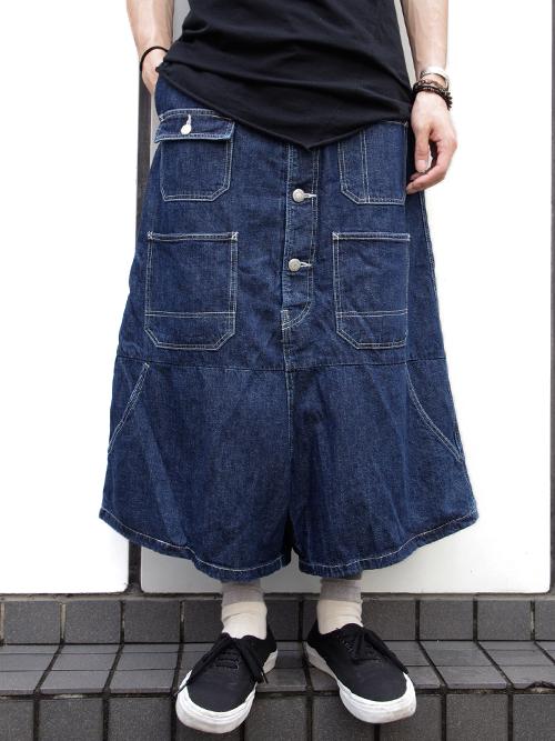 【KIDILLの新作〜袴のようなデニムパンツ〜】