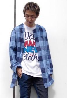 VOTE MAKE NEW CLOTHESのチェックシャツ