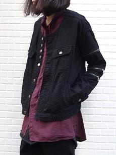 SHAREEFのワイドシルエットなデニムジャケット