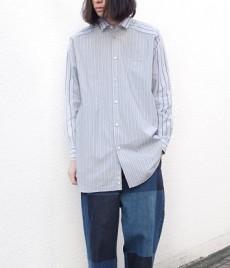 Dulcamaraのストライプ柄のロングシャツ