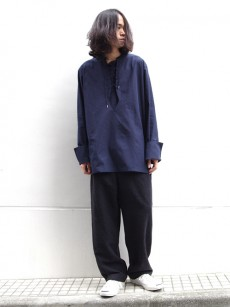 Edwina Horl // SIDE TUCK WIDE PANTS
