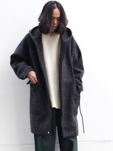 Edwina Horl // HOODED COAT