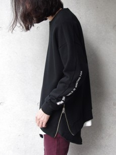 wizzard // SIDE ZIP SWEAT