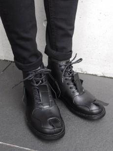 JOHN MOORE // RUBBER COMBAT BOOTS
