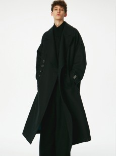 SHAREEF // W-FACE LONG COAT