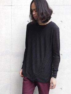 SHAREEF // ANGORA BORDER LAYERED L/S