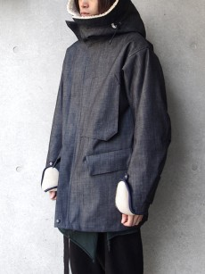 is-ness // LIQUID SPIRIT TECHNICAL FABRIC COAT