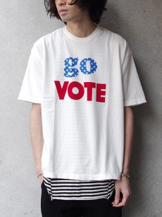VOTE MAKE NEW CLOTHES // GO VOTE VTG BIG TEE