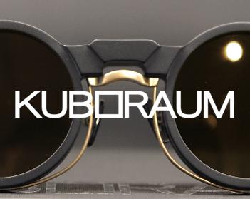 KUBORAUM 造形美としてのアイウェア