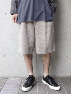 Edwina Horl // DOBBY WIDE SHORT PANTS