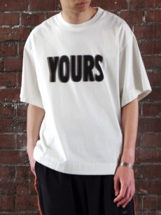 JieDa // YOURS BIG T-SHIRT