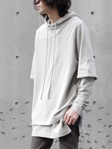 wizzard // LAYERED HOODIE