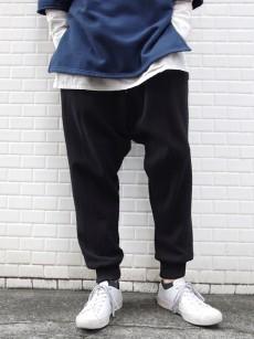 wizzard // CASHMERE WOOL SARROUEL JOGGER PANTS