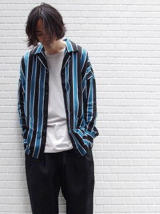 SHAREEF // STRIPE PAJAMA SHIRTS