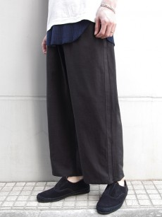 Iroquios // VIS/LIツイル WIDE EASYPANTS