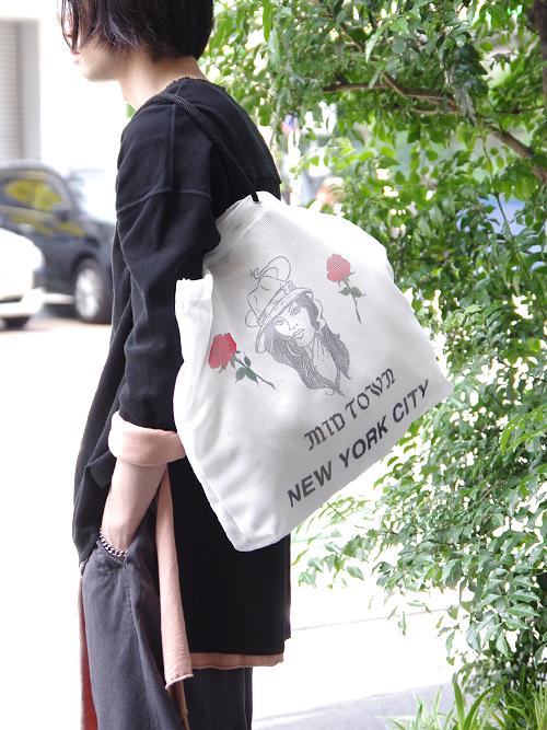 MATATABI // Print Mesh Souvenir Tote Bag