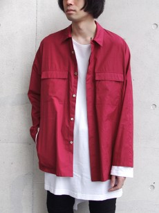 wizzard // OVERSIZE SHIRT JACKET