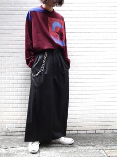 ALMOSTBLACK // WIDE SLACKS
