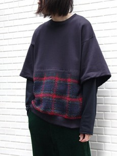 SOE // Layered Sweat Shirt