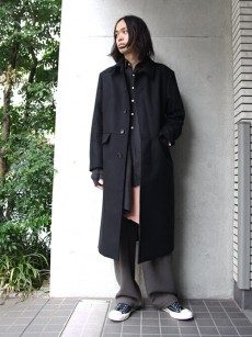 wizzard // SOUTIEN COLLAR COAT