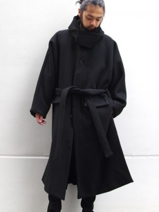 wizzard // WIDE HOODED COAT