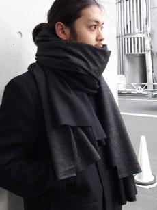 PATRICK STEPHAN // Jersey scarf 'wrap'