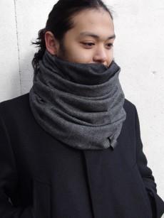 PATRICK STEPHAN // Jersey scarf 'fuji'