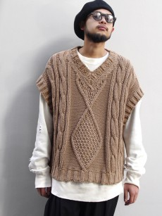Iroquois // SHELTER別注 WIDE KNIT TEE