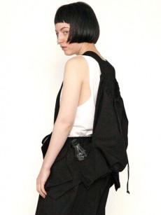 my beautiful landlet // horse cloth backpack vest