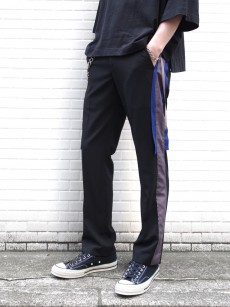 ALMOSTBLACK // SIDE LINE SLACKS