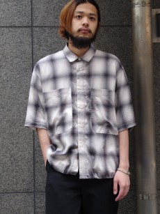JieDa // CHECK DRAW CODE SHIRT