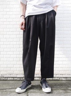 my beautiful landlet // wool twill wide pants