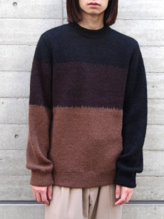 JUHA // MOHAIR GRADATION KNIT