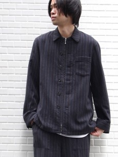 MASU // ZIP-UP PAJAMA SHIRTS