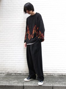 Iroquois // FLAME PATTERN JQ KNIT